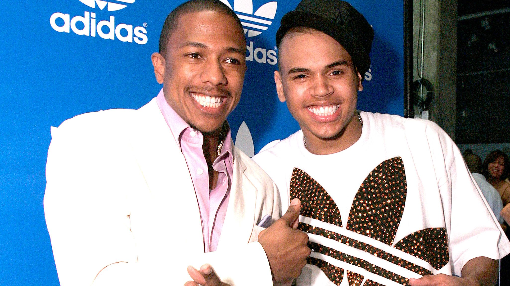 Nick Cannon and Chris Brown Link Up for Forthcoming Film, 'She Ball'