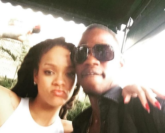 Rihanna and cousin