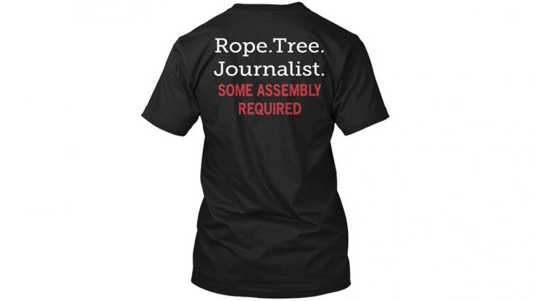 Walmart pulls controversial shirt that threatens journalists