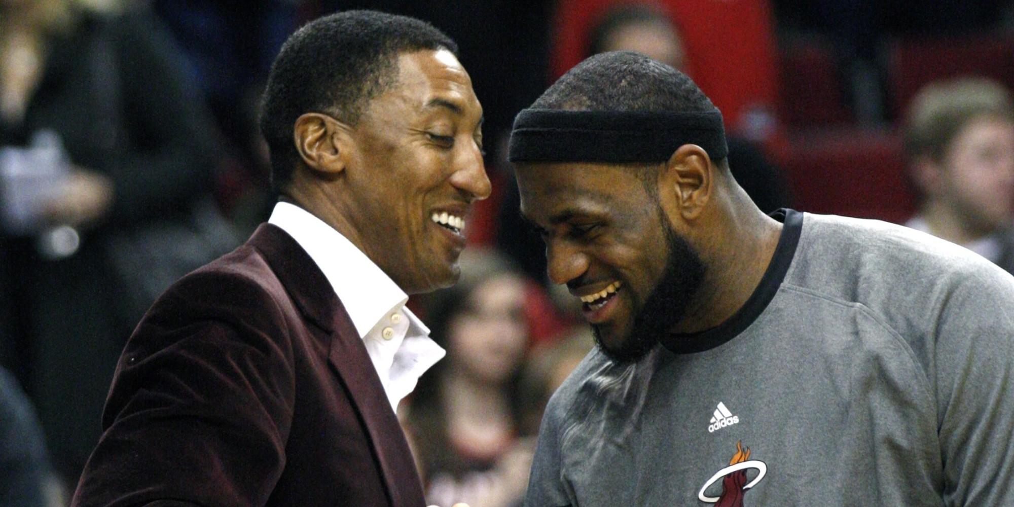 Scottie Pippen Makes The Case That LeBron James Is Better Than Michael Jordan
