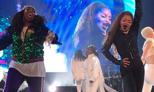 Janet Jackson Brings Out Missy Elliot to Perform in Atlanta
