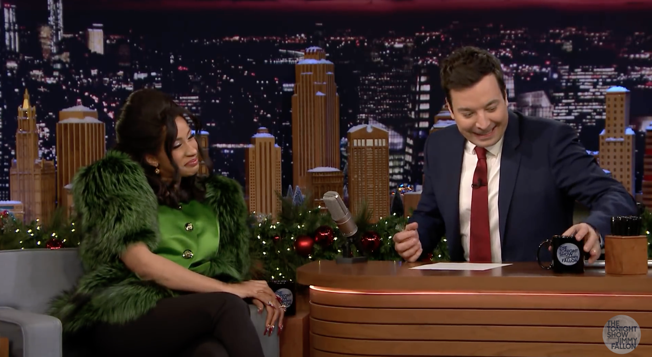 "Cardi B on 2017 Christmas Gift: ""Once You Start Making Money, Everyone Wants You to be Their Kids' God Mother"""