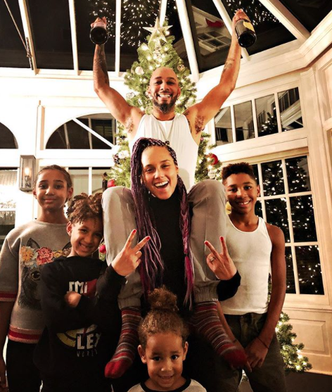 Swizz Beatz Brought Skate Key Back for Christmas… in the House!