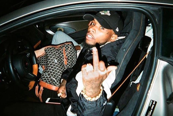 Tory Lanez Crashes Rolls-Royce... Again