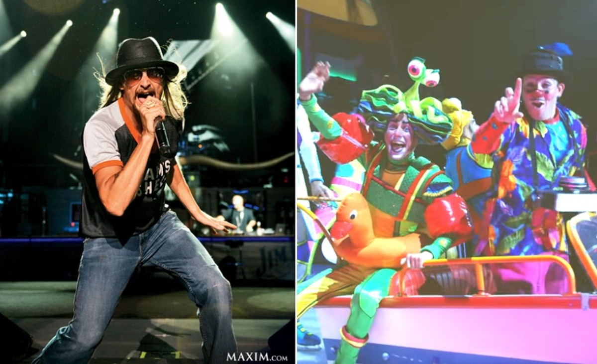 Greatest Show On Earth: Kid Rock Or Ringling Brothers?