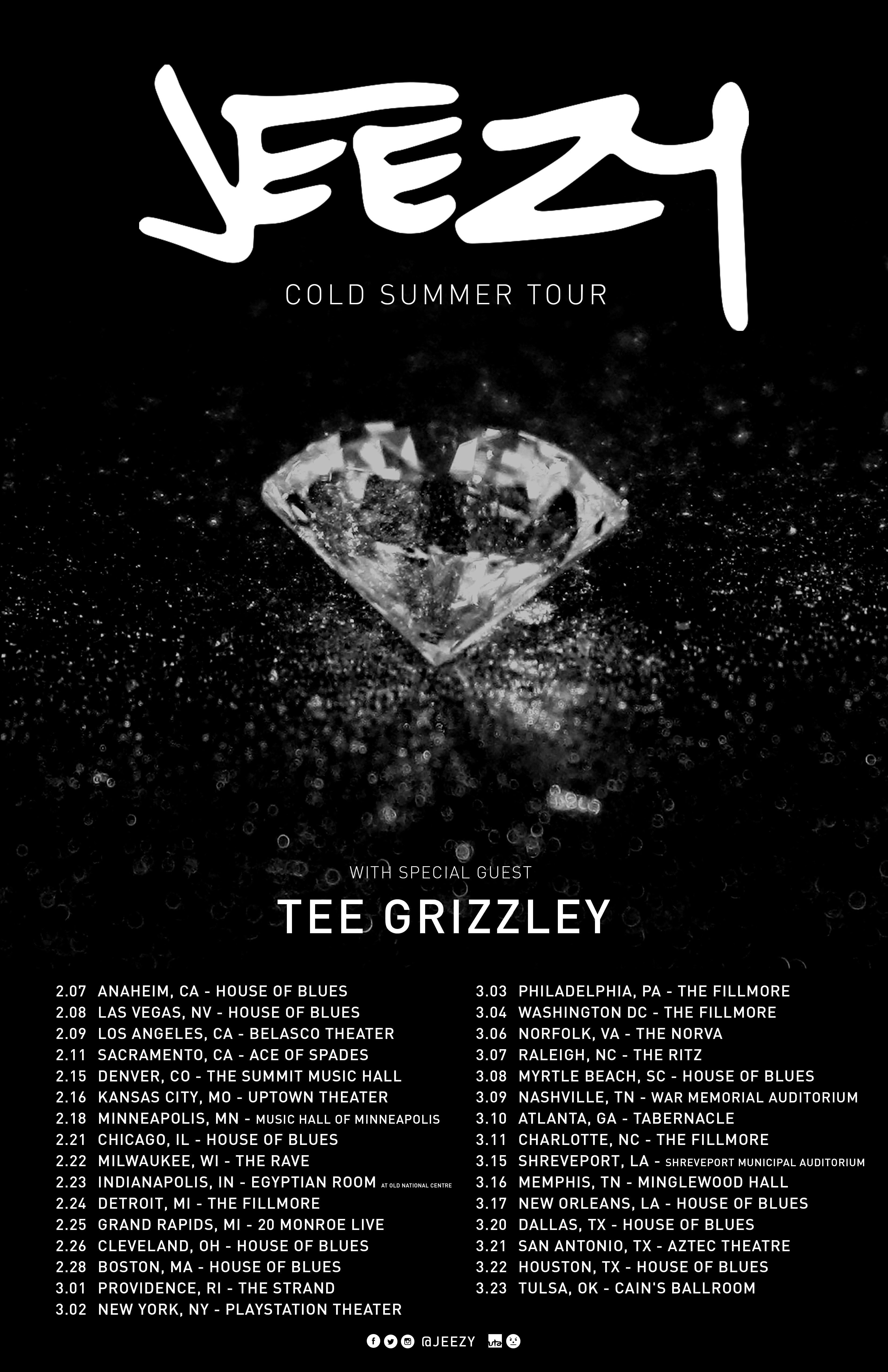 "15f2ff5bfb13 Jeezy Announces The ""Cold Summer"" Tour In Preparation For The Release Of   Pressure  LP"