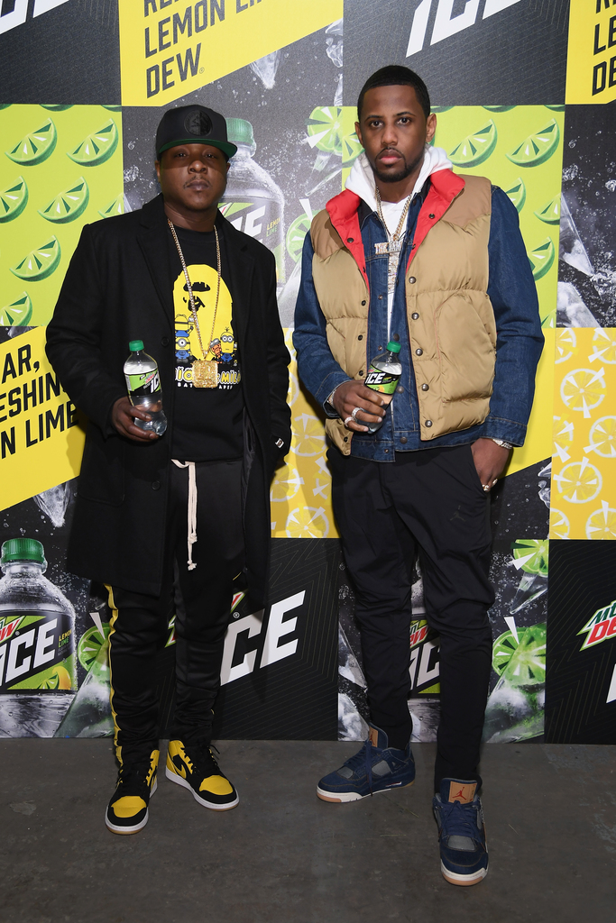 MTN DEW ICE Launch In Brooklyn Featuring Fabolous And Jadakiss, Wu Tang Clan
