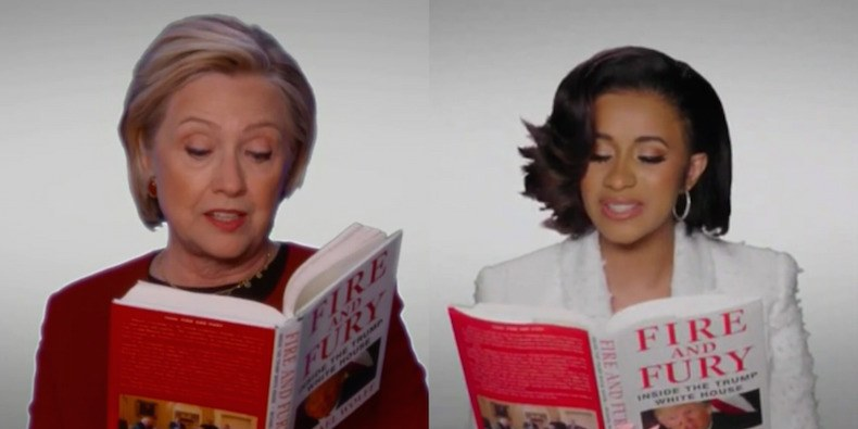 Hillary Clinton Cardi B