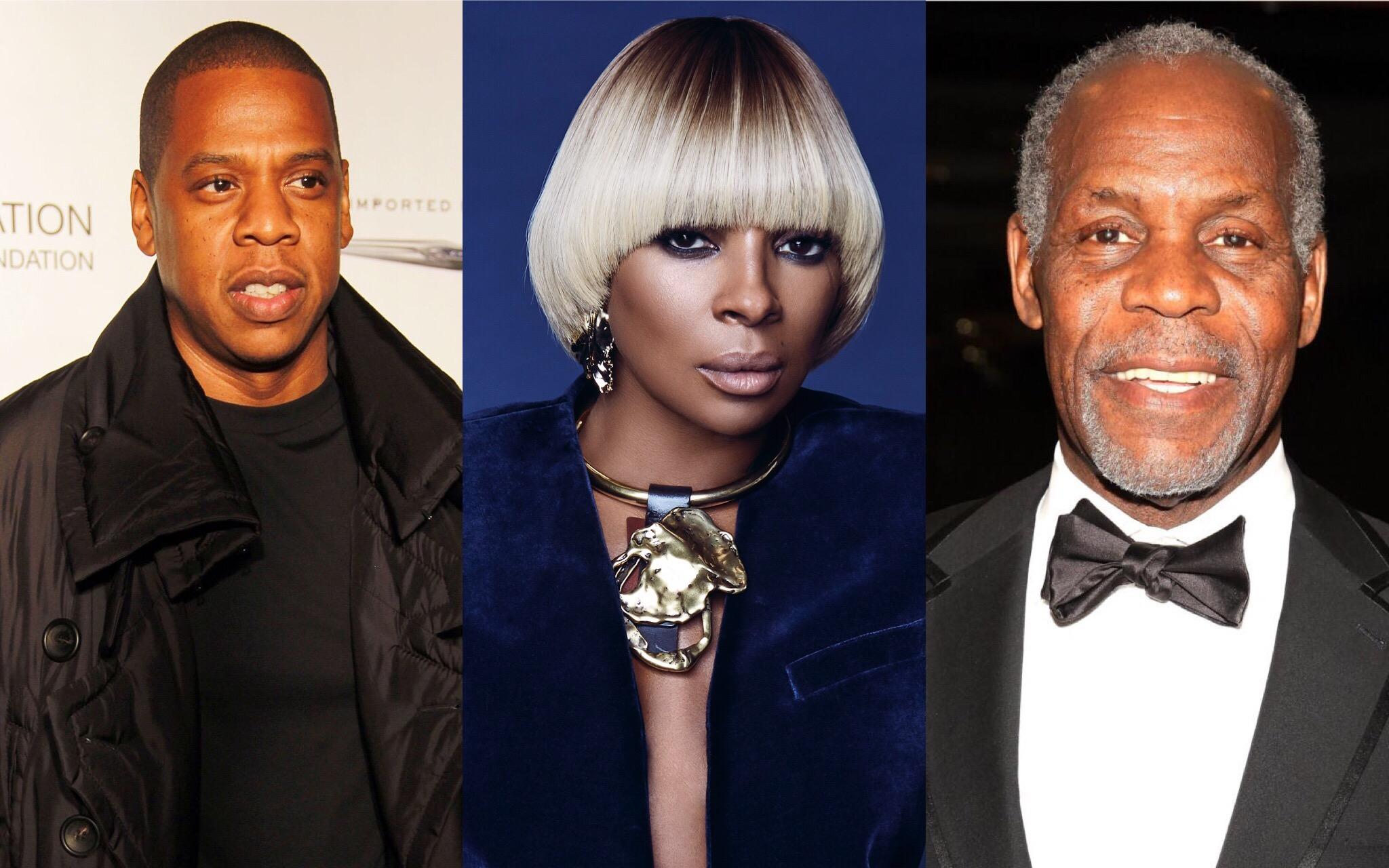 Jay Z Mary J Blige Danny Glover NAACP Image Awards