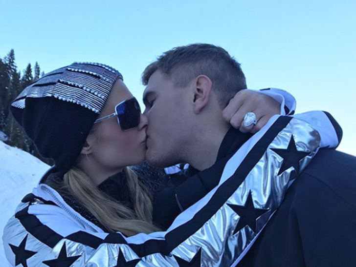 Paris Hilton Hires Private Security to Protect $2 Million Engagement Ring