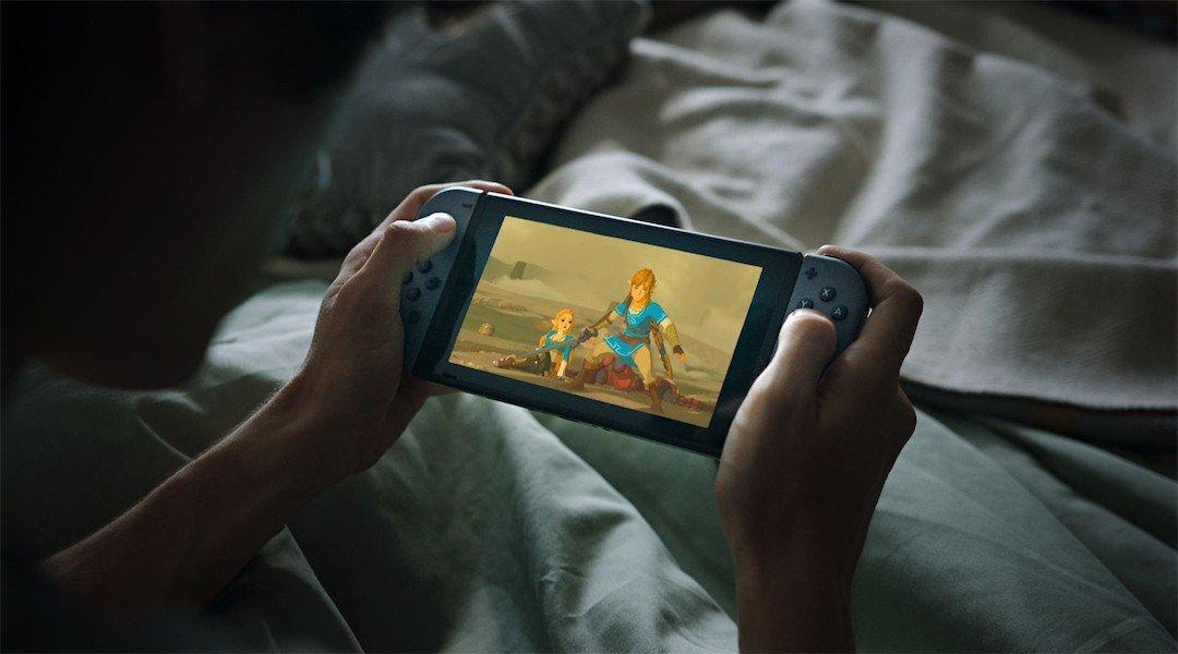 nintendo switch best selling console july  zelda