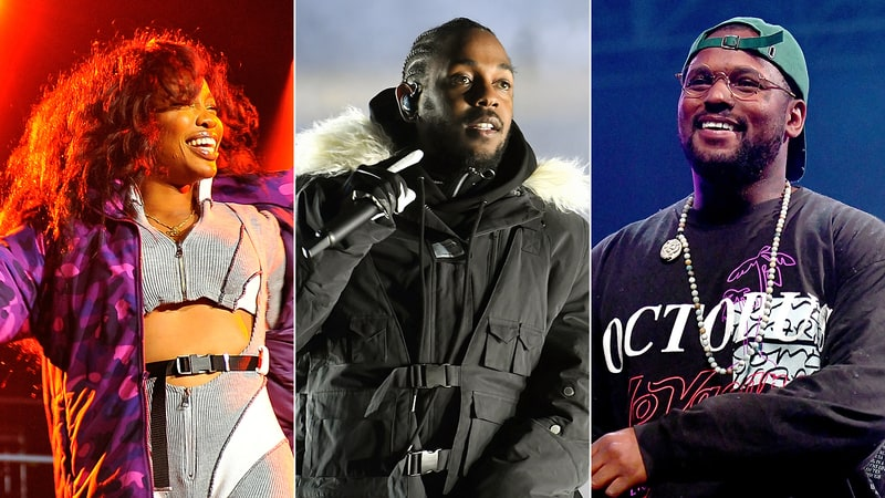 TDE Announces 'The Championship Tour' with Kendrick Lamar, SZA, ScHoolboy Q and More