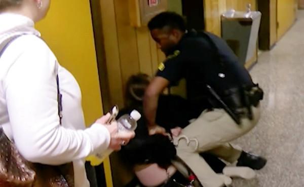 teacher handcuffed fbbfcb