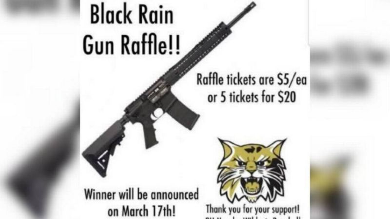 Kids auctioning off AR-15 rifle following latest mass shooting