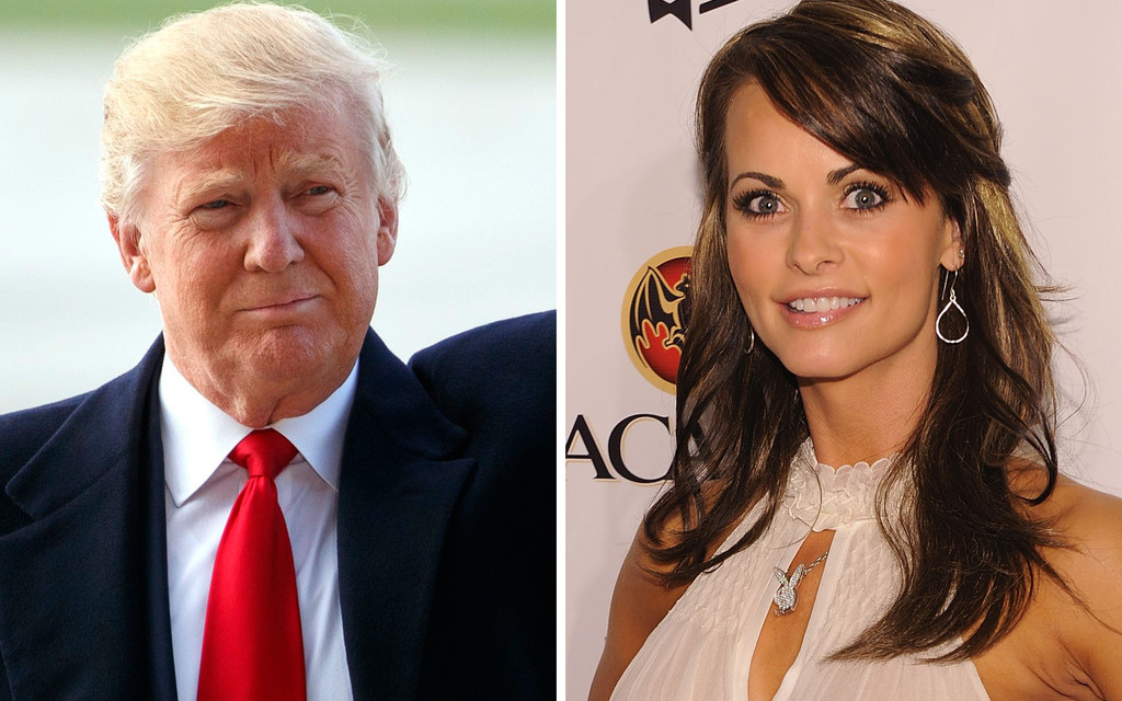 Former Playboy Playmate Alleges President Trump's System For Covering Up Affairs