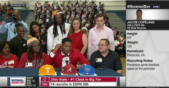 'Roll Tide,' not: Watch mom walk off after son chooses Florida