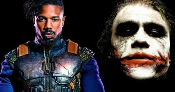 Killmonger Michael B Jordan Heath Ledger Joker The Source