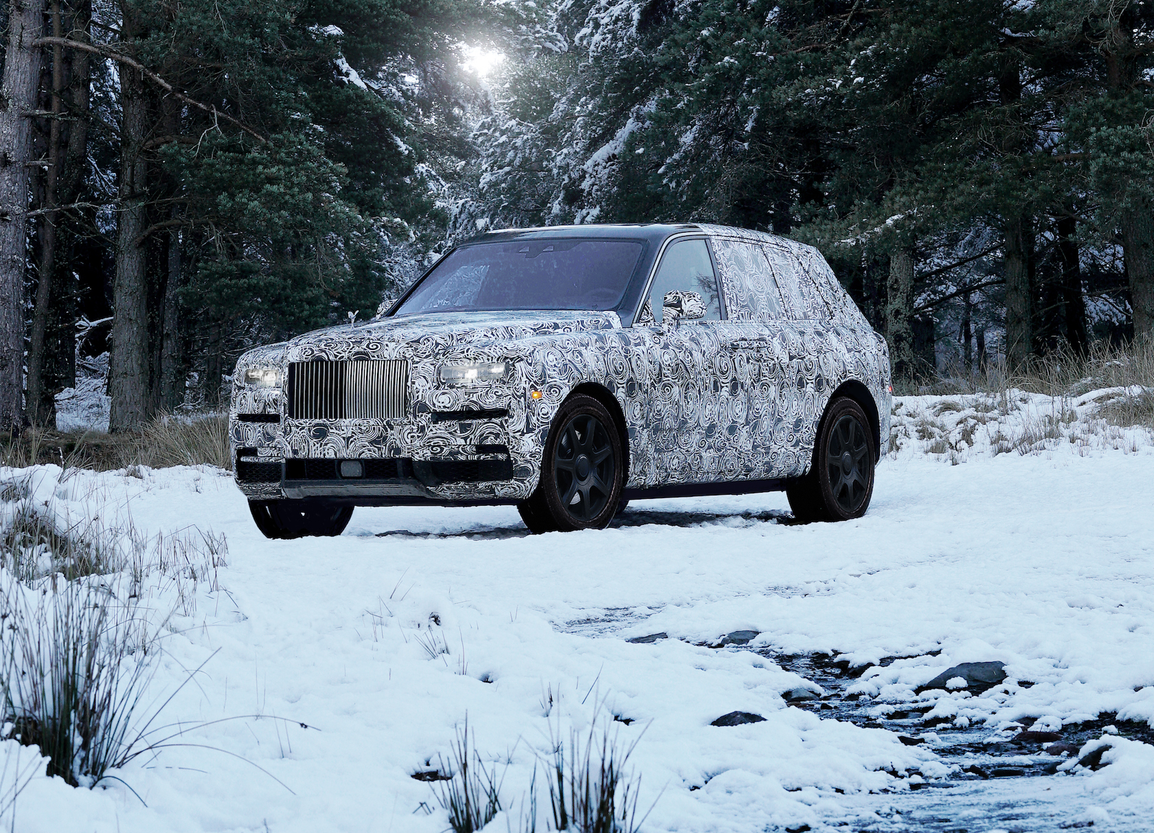 Rolls-Royce confirms the name of its long-awaited first SUV