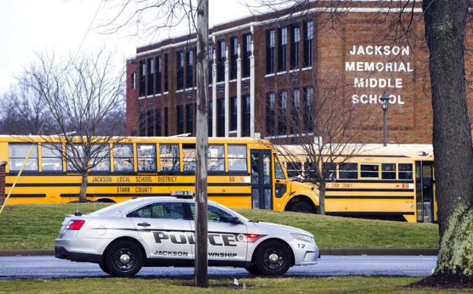 Seventh grader shoots self at Stark County's Jackson Memorial Middle School