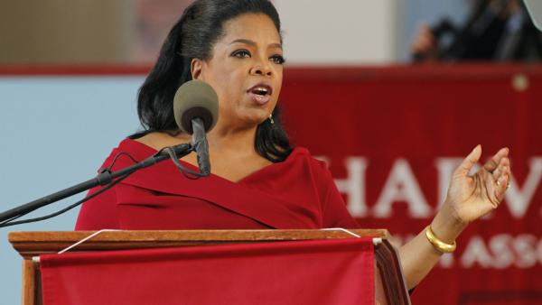 VIDEO Oprah Winfrey delivers Harvard commencement speech