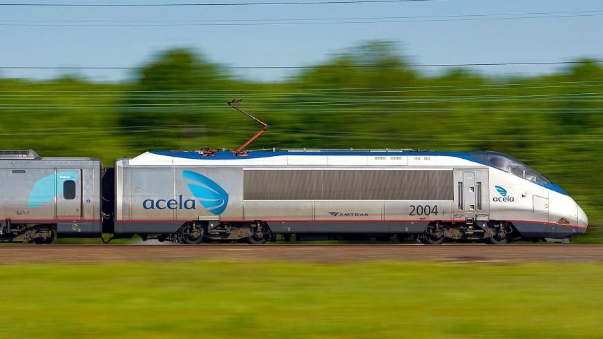 Amtrak Acela train separates en route to Boston