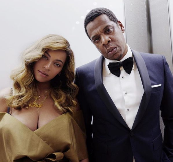 Beyonce and Jay Z via Instagram @beyonce
