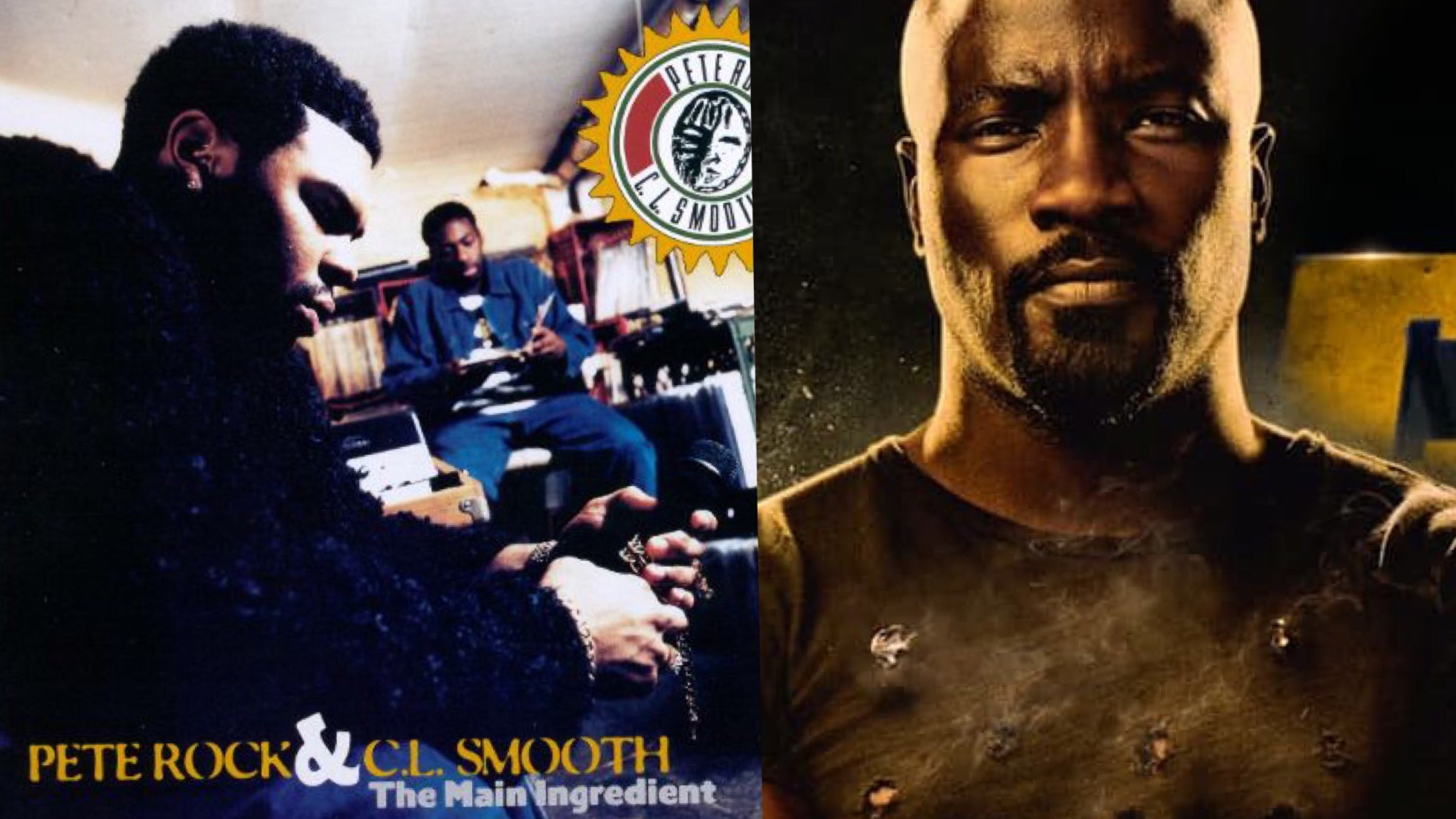 Pete Rock CL Smooth Luke Cage