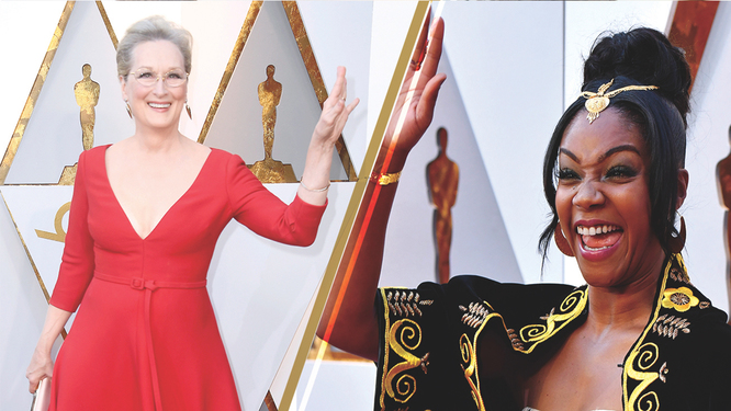 Tiffany Haddish Meryl Streep The Source The Oscars