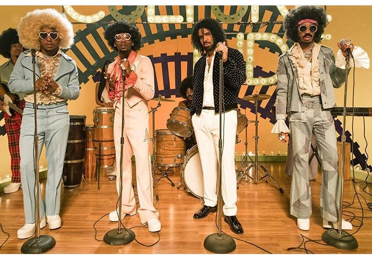 Migos & Drake go back in time for 'Walk It Talk It' video