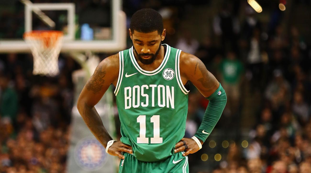 Celtics provide update on knee of Kyrie Irving