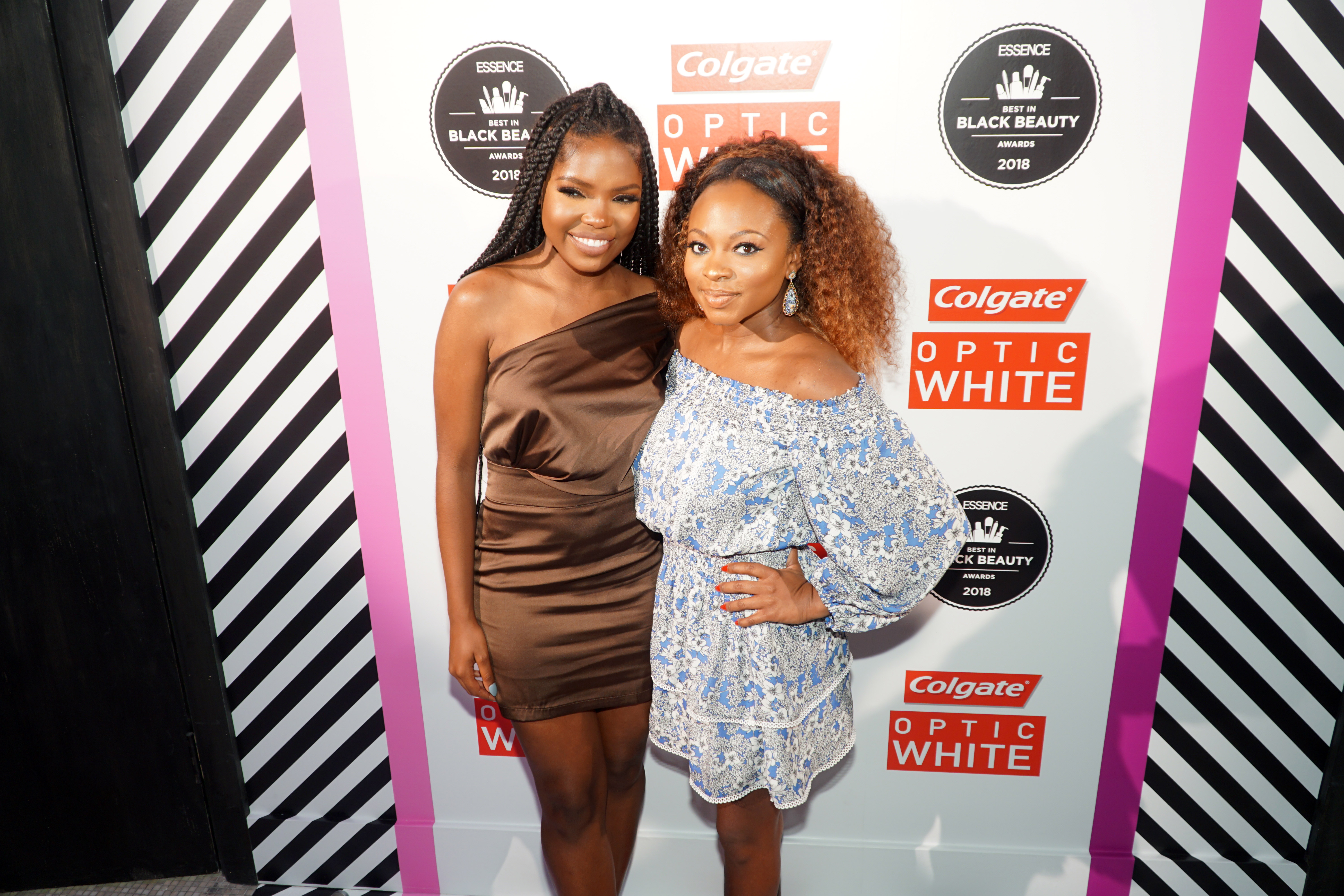 Actress Ryan Destiny and Naturi Naughton