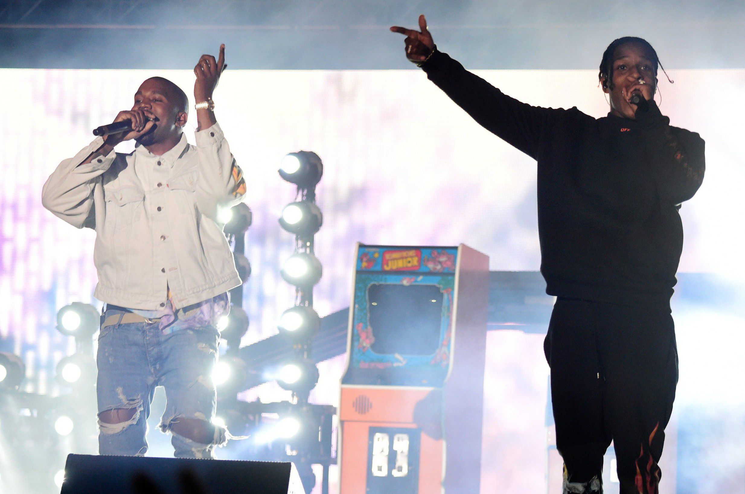 Kanye West Has Music With A$AP Rocky, Lil Uzi Vert, Travis Scott on the Way