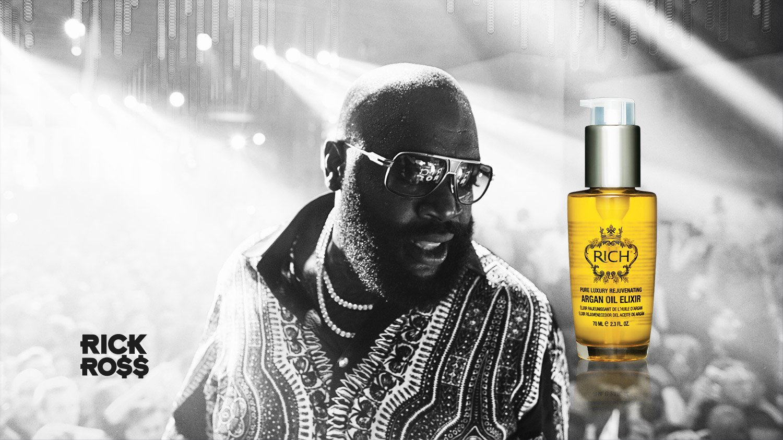 Rick Ross RICH Hair Care Line BeardGang