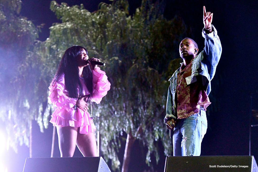 SZA Takes Karate Lessons From Kendrick Lamar In 'Doves In