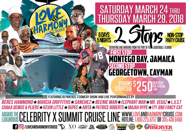 The Annual Love and Harmony Cruise is a Go-To Destination