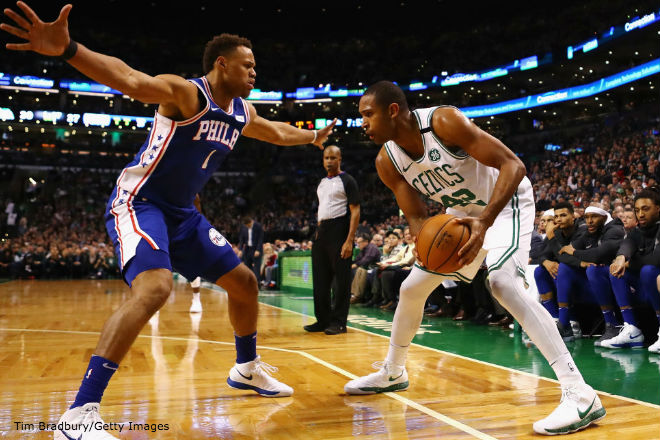 Rozier helps Celtics beat 76ers in Eastern Conference semi Game 1