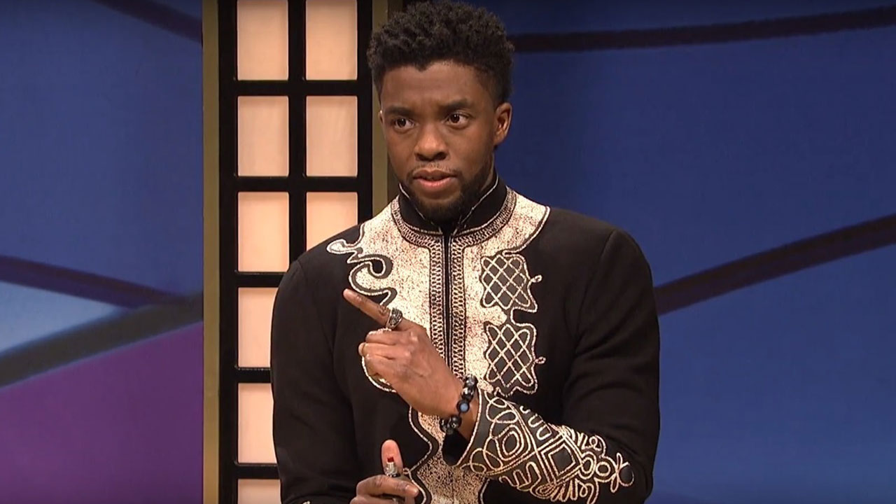 Watch Chadwick Boseman Reprise T'Challa on SNL