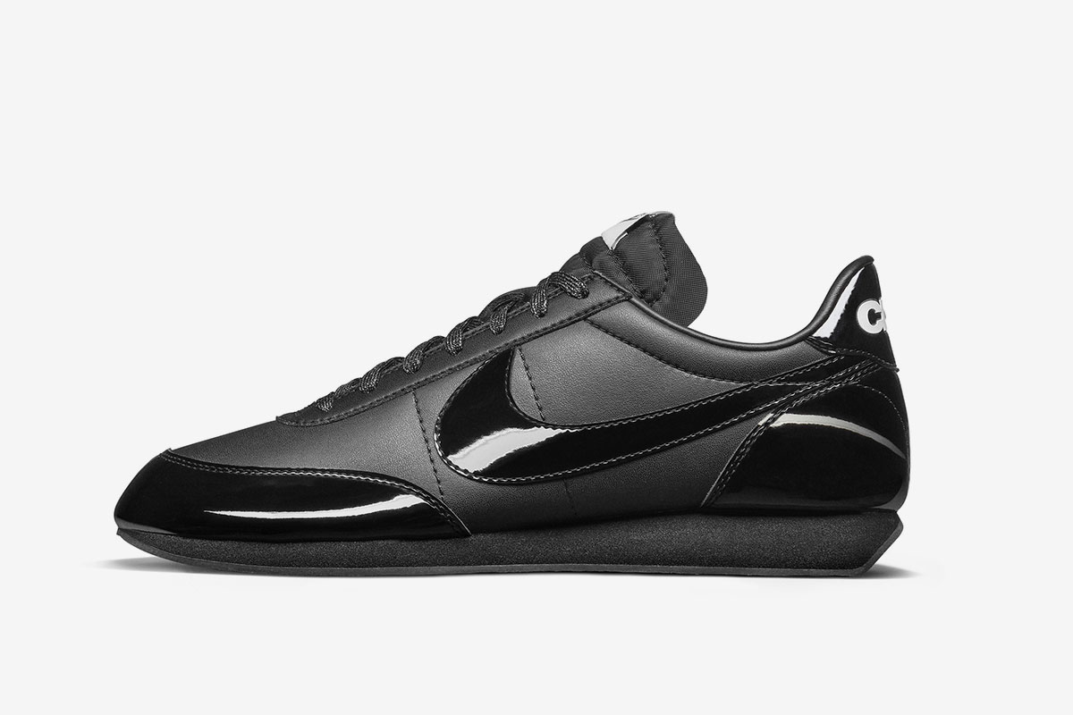 comme des garcons nike night track