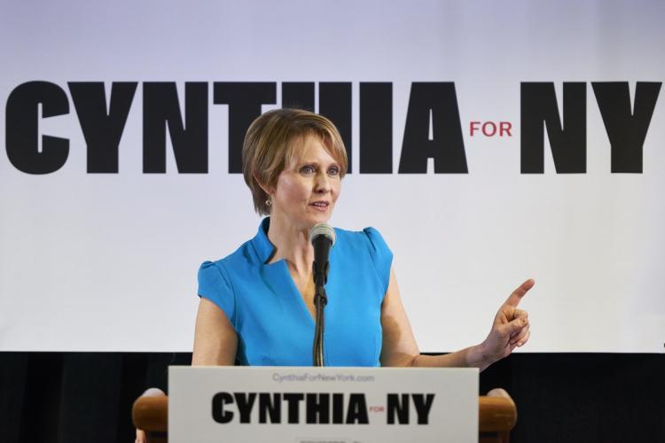 cynthia nixon campaign kickoff event