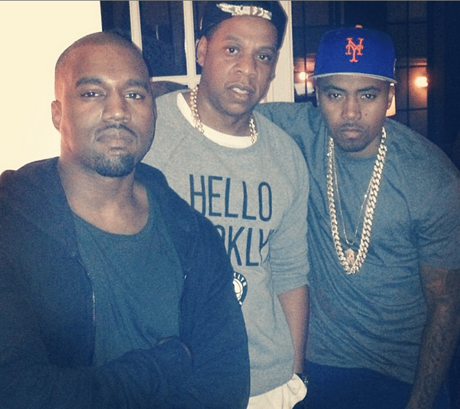 Kanye West Announces New Nas Album