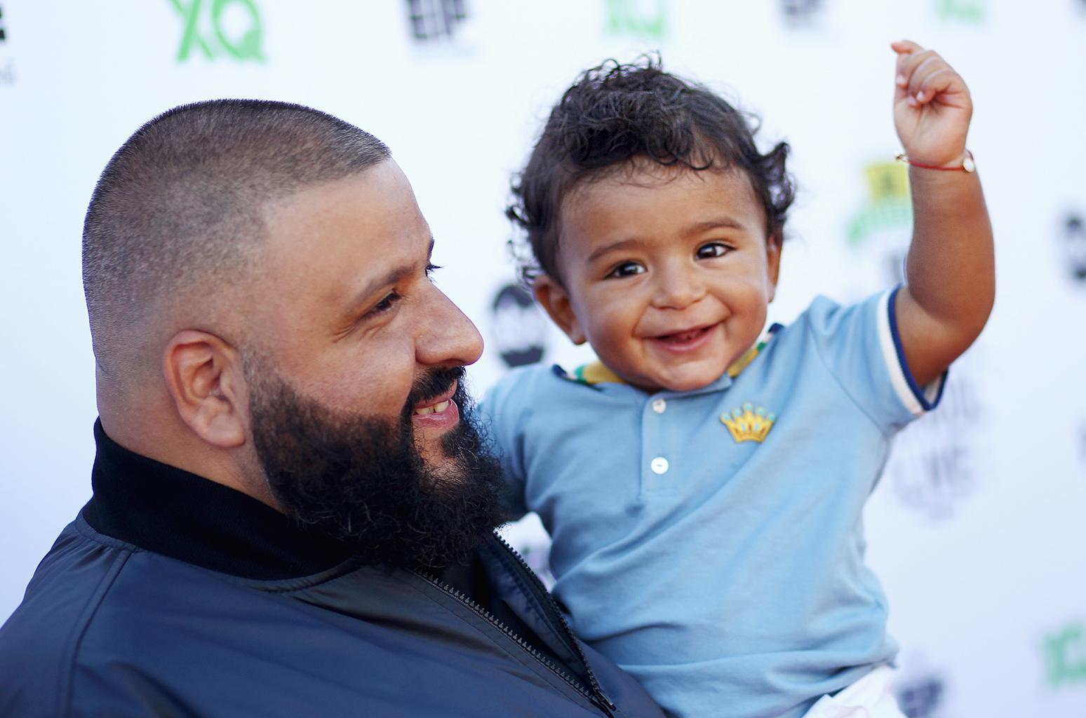 06edf04c8817 DJ Khaled Wants To Trademark His Son s Name