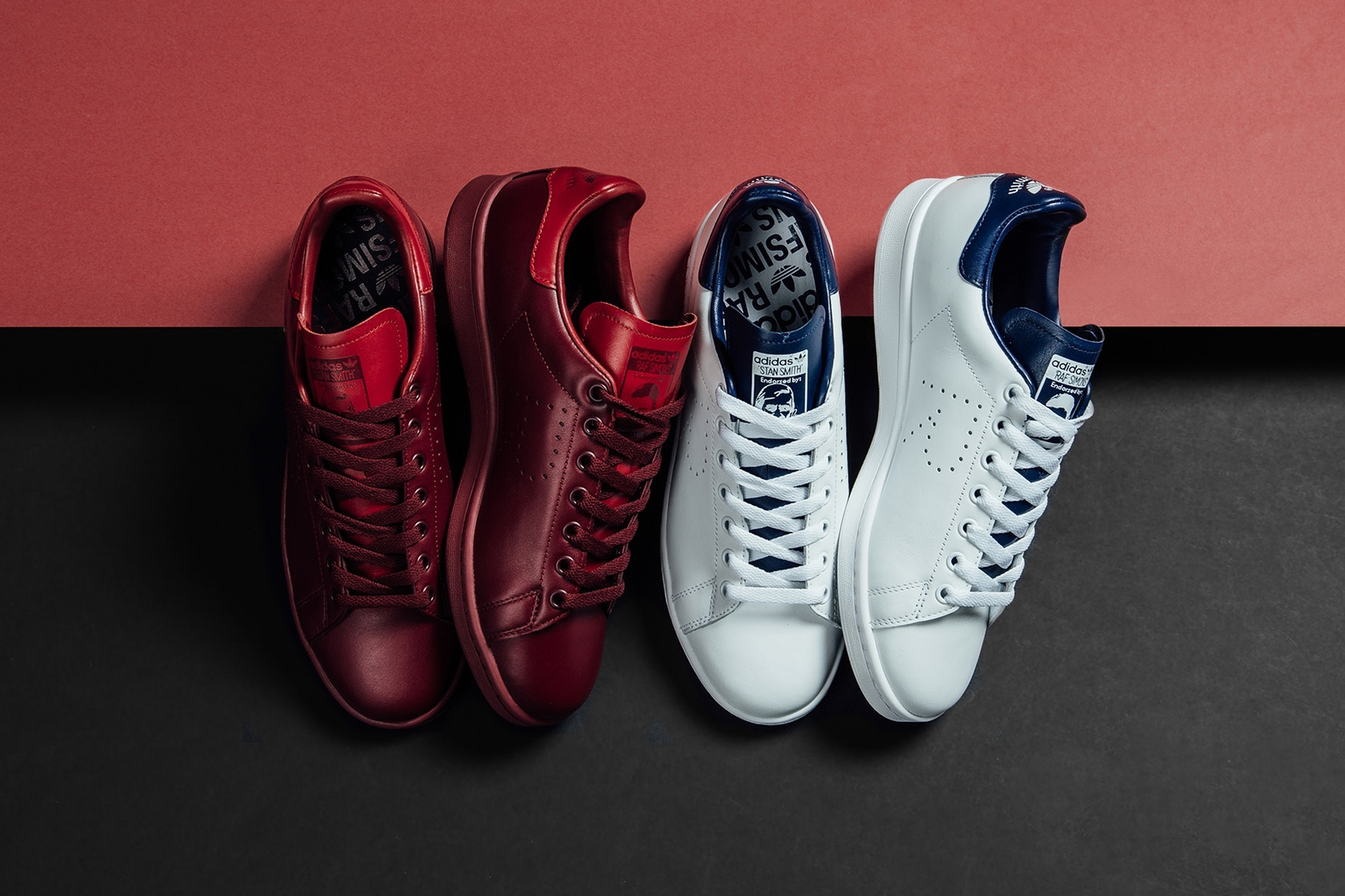 various colors new list wholesale Raf Simons x adidas Originals Spring/Summer 2018 Stan Smith ...