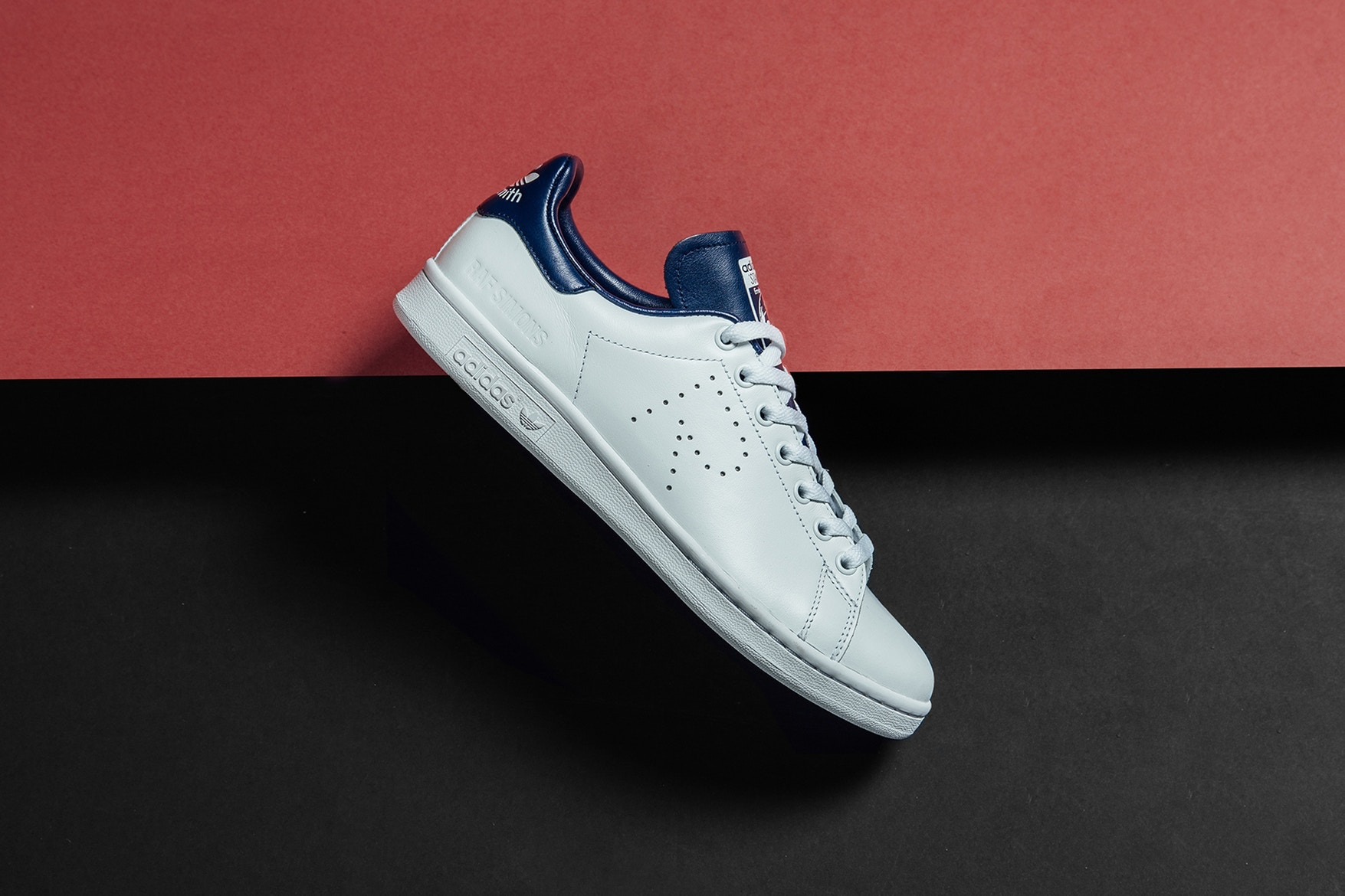 Raf Simons X Adidas Originals Spring Summer 2018 Stan Smith The Source 100 Sepatu Original New Colorways Are Available Right Now At Feature For 320 Get A Better Look Both Below