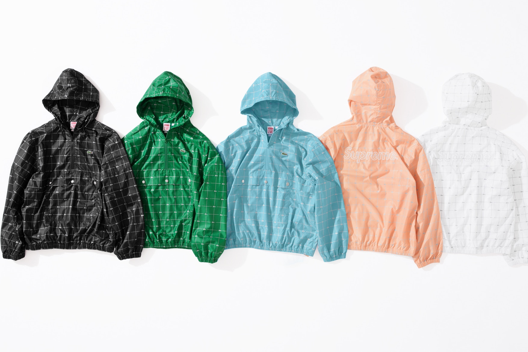 supreme lacoste spring  collection