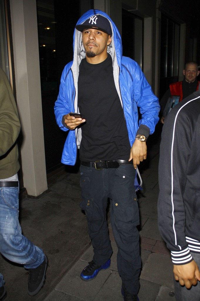 J. Cole 10 Greatest Sneaker Moments