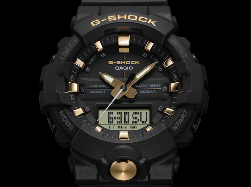 buy popular 445b3 55149 G-SHOCK Goes for the Gold With Its Latest GA700 and GA800 ...