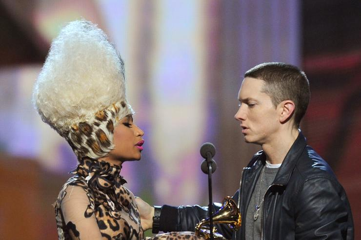 Is Nicki Minaj Dating Eminem?