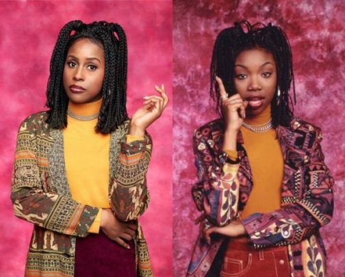 "Issa Rae Pays Homage to ""Moesha"", Brandy Reacts"