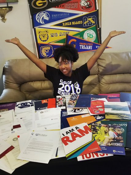 """Jasmine Harrison Was Accepted to 113 Colleges: """"I Can Go Anywhere"""""""