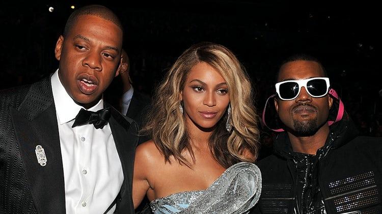Jay Z Beyonce Kanye West